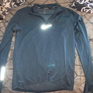 Light Blue Nike Quarter-Zip